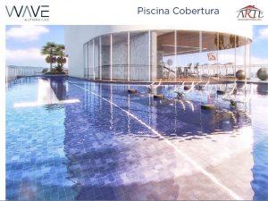 piscina na cobertura - wave alphaville